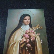 Postales: POSTAL RELIGIOSA. SANTA TERESA. Lote 175969654