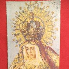 Postales: POSTAL DE LA VIRGEN DE LA ESPERANZA MACARENA , PRINCIPIO DEL XX. Lote 176104762
