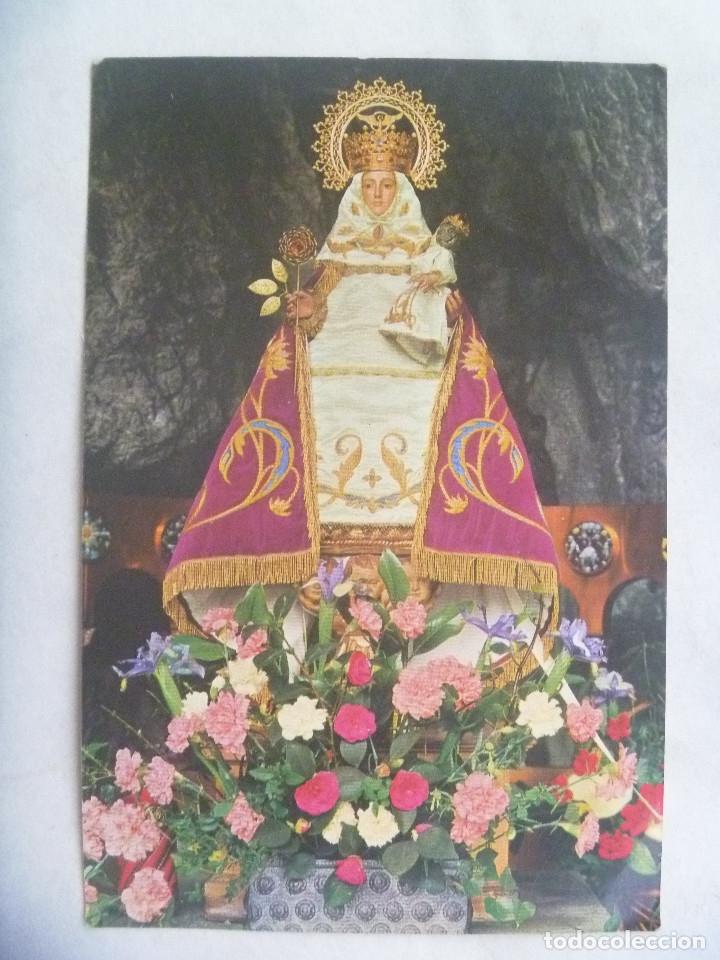 POSTAL DE LA SANTINA DE COVADONGA. ASTURIAS (Postales - Postales Temáticas - Religiosas y Recordatorios)