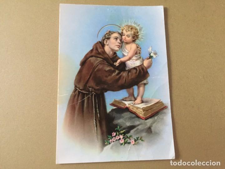 POSTAL SAN ANTONIO DE PADUA (Postales - Postales Temáticas - Religiosas y Recordatorios)