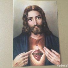 Postales: POSTAL SAGRADO CORAZÓN DE JESÚS. Lote 176232454