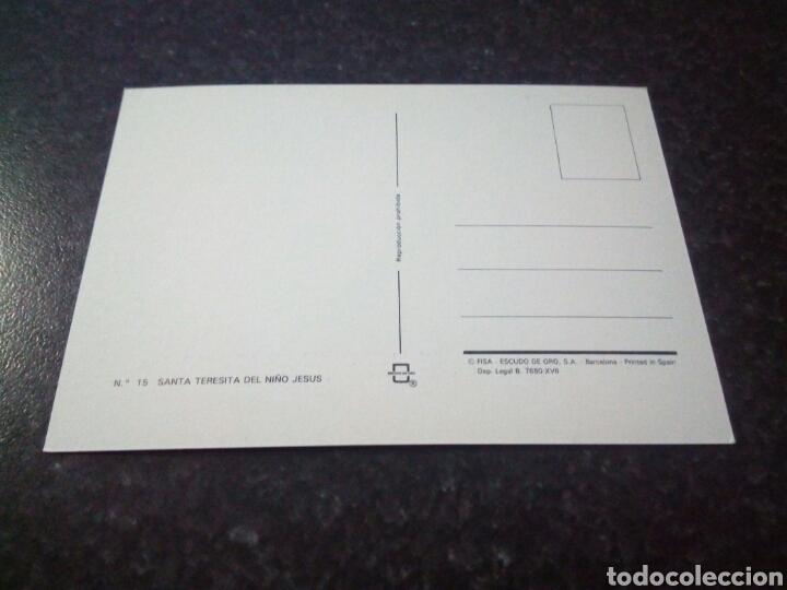 Postales: Postal Religiosa. Santa Teresita del niño Jesus - Foto 2 - 176279622