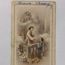 Postales: RECUERDO DE PRIMERA COMUNIÓN IGLESIA DE S. PEDRO (JAVITA). AÑO 1952.. Lote 177036100