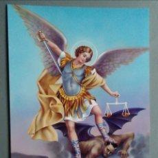 Postales: POSTAL SAN MIGUEL ARCANGEL / 15 X 10 CM. Lote 177120983