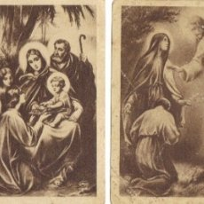 Postales: LOTE 4 ESTAMPITAS RELIGIOSAS ANTIGUAS EN B/N. Lote 177131382