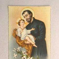 Postales: SAN CAYETANO. POSTAL RELIGIOSA SERIE C, EDITA: DUMMATZEN..? SIN CIRCULAR (H.1950?). Lote 177217968