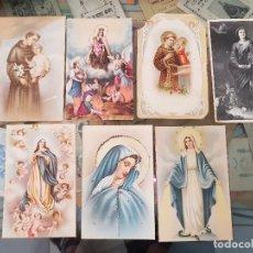 Postales: COLECCION ANTIGUAS POSTALES RELIGIOSAS. Lote 177264917