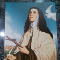 Postales: POSTAL RELIGIOSA. SANTA TERESA DE JESÚS.. Lote 177287225
