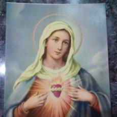 Postales: POSTAL RELIGIOSA. SAGRADO CORAZÓN DE MARÍA.. Lote 177407975