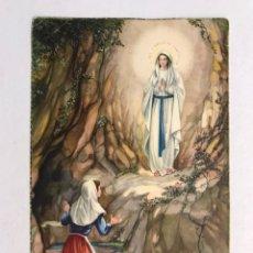 Postales: BERNARDETTE. POSTAL RELIGIOSA A COLOR. EDITA: C Y Z (H.1960?) SIN CIRCULAR.... Lote 177422815