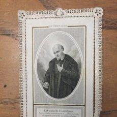 Postales: ESTAMPA DE PUNTILLAS DE SAN VICENTE DE PAUL. Lote 177439057