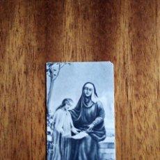 Postales: ESTAMPITA RELIGIOSA 6,5X3,5 CM. Lote 177501540
