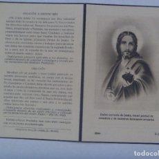 Postales: RECORDATORIO DE SEÑORA MARQUESA. FALLECIDA EN MADRID EN 1948. Lote 177514889
