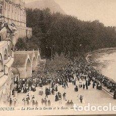 Postales: FRANCIA ** & POSTAL, LOURDES, LA GRUTA Y EL GAVE (102). Lote 177547979