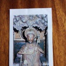 Postales: PRECES Y ORACIÓN DEL AÑO SANTO COMPOSTELANO. 12,5X7 CM.. Lote 177595583