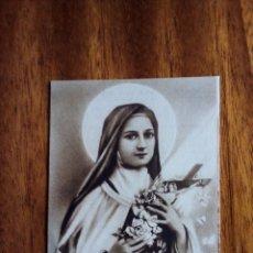 Postales: SANTA TERESA DE JESÚS. ORACIÓN EN FAVOR DE LOS NIÑOS DE LAS MISIONES. 9,5X6,5 CM.. Lote 177597259