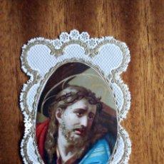 Postales: ESTAMPITA PAPEL SATINADO Y TROQUELADO. 10X6 CM. Lote 177631045