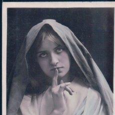 Postales: POSTAL MONJA - 1044 SAERAC IRIS - CIRCULADA 1912. Lote 177655094