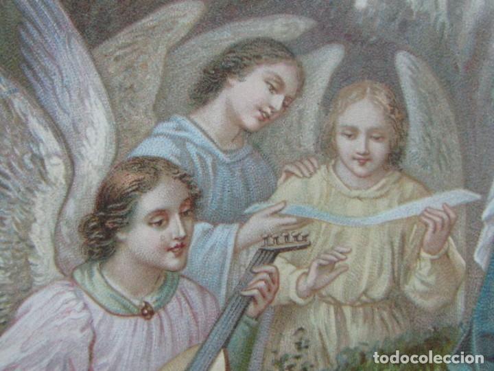 Postales: POSTAL RELIGIOSA CROMOLITOGRAFÍA DE PRINCIPIOS DE SIGLO XX - Foto 3 - 177673247