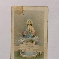 Postales: RECUERDO DE PRIMERA COMUNIÓN CONVENTO DE LAS HERMANAS DOMINICAS DE LA CONSOLACIÓN JAVITA 1948.. Lote 177718732