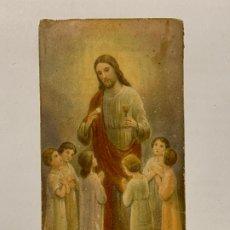 Postales: RECUERDO PRIMERA COMUNIÓN COLEGIO DE RELIGIOSAS DOMINICAS (JÁTIVA) AÑO 1932.. Lote 177718978