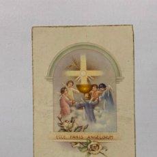 Postales: RECUERDO PRIMERA COMUNIÓN IGLESIA DEL NACIMIENTO DE JESUS DE RAFELGUARAF. AÑO 1956.. Lote 177719100