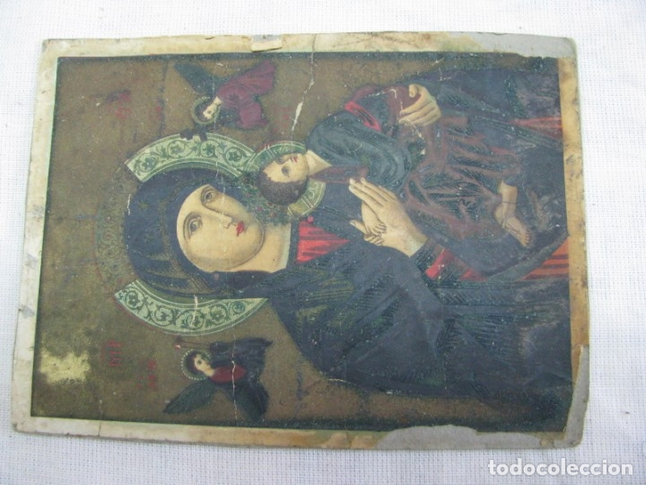 Postales: LOTE DE 2 ANTIGUAS ESTAMPAS RELIGIOSAS VIRGEN DEL PERPETUO SOCORRO , VALENCIA - Foto 9 - 177806657