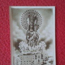 Postales: TARJETA ESTAMPA RELIGIOSA RECORDATORIO RELIGIOSO SAN JOSÉ DE LA MONTAÑA BARCELONA, VITORIA FOURNIER. Lote 178125119