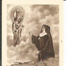 Postales: ESTAMPA M. PETRA DE S. JOSÉ PEREZ FUNDADORA CONGRAGACION DE M.M. DESAMPARADOS Y SAN JOSE DE MONTAÑA. Lote 195168253