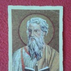 Postales: TARJETA ESTAMPA RELIGIOSA RECORDATORIO RELIGIOSO SANCTE PAULE ? SAN PABLO ? SAINT PAUL ? PAULUS ? . Lote 178165850