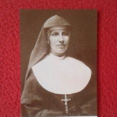 Postales: TARJETA ESTAMPA RELIGIOSA RECORDATORIO RELIGIOSO SOR SUOR TERESA VALSÈ-PANTELLINI PREGHIERA ORACIÓN . Lote 178169993