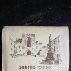 Postales: POSTAL - ACORDEÓN DE 14 POSTALES DEL MONASTERIO DE SANTAS CREUS TARRAGONA. Lote 178202940