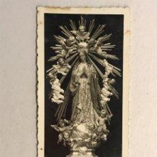 Postales: CARCAGENTE (VALENCIA) ESTAMPA FOTOGRAFÍCA RECUERDO DE LA BENDICION SOLEMNE....(A.1943). Lote 178310800