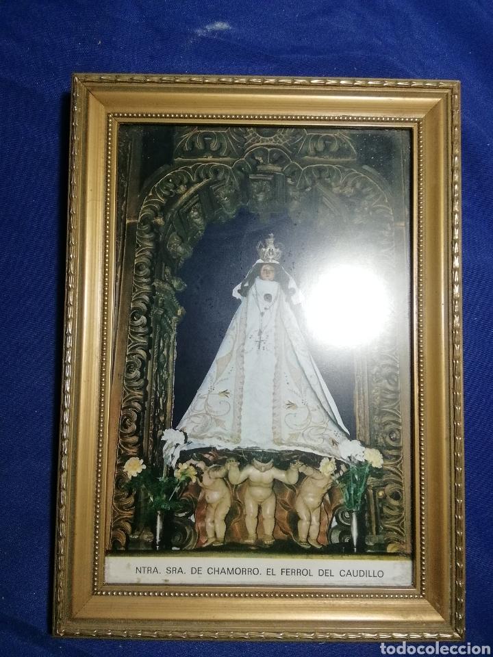 Postales: Nuestra señora de Chamorro ferrol del caudillo. Estampa, foto o postal enmarcada - Foto 2 - 178368826