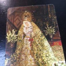 Postales: ESTAMPA CALENDARIO - VIRGEN ESPERANZA MACARENA - 1987 - 6.5X9.5CM. Lote 178716696