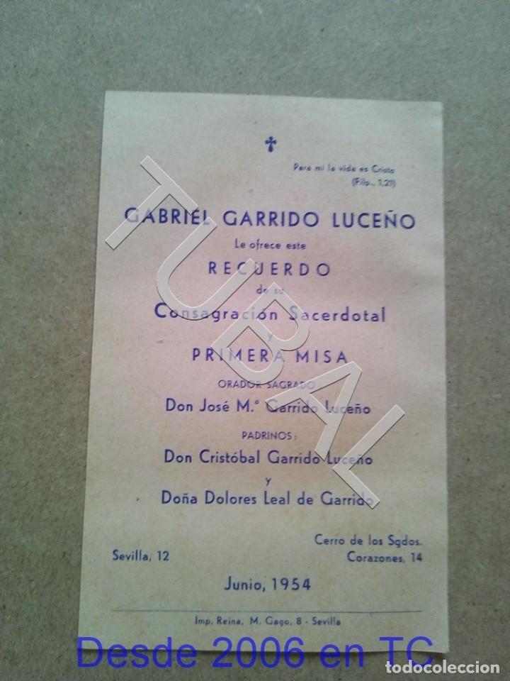 Postales: TUBAL GABRIEL GARRIDO LUCEÑO ESTAMPA ANTIGUA ENVIO 2019 70 CTMS B04 - Foto 3 - 178762636