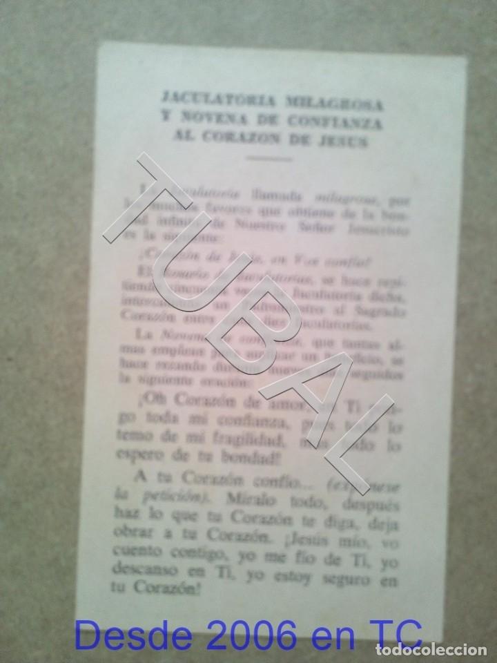 Postales: TUBAL JACULATORIA MILAGROSA ESTAMPA ANTIGUA ENVIO 2019 70 CTMS B04 - Foto 2 - 178769656