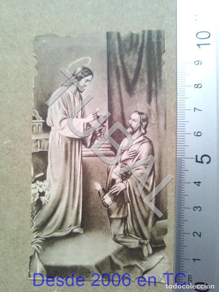 TUBAL 1940 CRISTOBAL GARRIDO BARRERA ESTAMPA ANTIGUA ENVIO 2019 70 CTMS B04 (Postales - Postales Temáticas - Religiosas y Recordatorios)