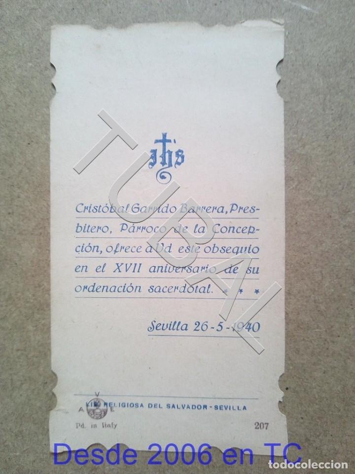 Postales: TUBAL 1940 CRISTOBAL GARRIDO BARRERA ESTAMPA ANTIGUA ENVIO 2019 70 CTMS B04 - Foto 2 - 178772095