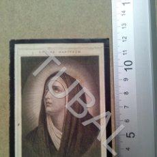 Postales: TUBAL 1922 CARMONA PARROQUIA S PEDRO S SEBASTIAN ESTAMPA ANTIGUA ENVIO 2019 70 CTMS B04. Lote 178787008