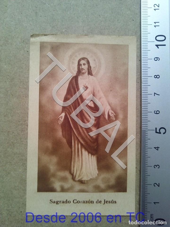 TUBAL 1940 PARROQUIA DE LA CONCEPCION ESTAMPA ANTIGUA ENVIO 2019 70 CTMS B04 (Postales - Postales Temáticas - Religiosas y Recordatorios)