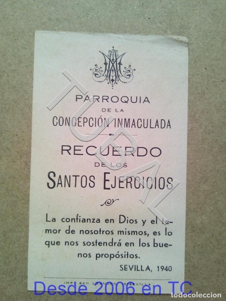 Postales: TUBAL 1940 PARROQUIA DE LA CONCEPCION ESTAMPA ANTIGUA ENVIO 2019 70 CTMS B04 - Foto 2 - 178788381