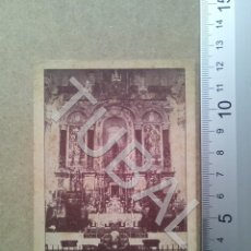 Postales: TUBAL PARROQUIA DE LA CONCEPCION SEVILLA 1941 ESTAMPA ANTIGUA ENVIO 2019 70 CTMS B04. Lote 178789586