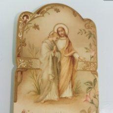 Postales: LOTE ANTIGUAS POSTALES RELIGIOSAS. Lote 178811788