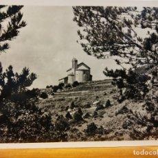 Postales: SANTUARI DE MONTGRONY. ESGLÉSIA ROMÀNICA DE SANT PERE S. IX. NUEVA. Lote 178835612