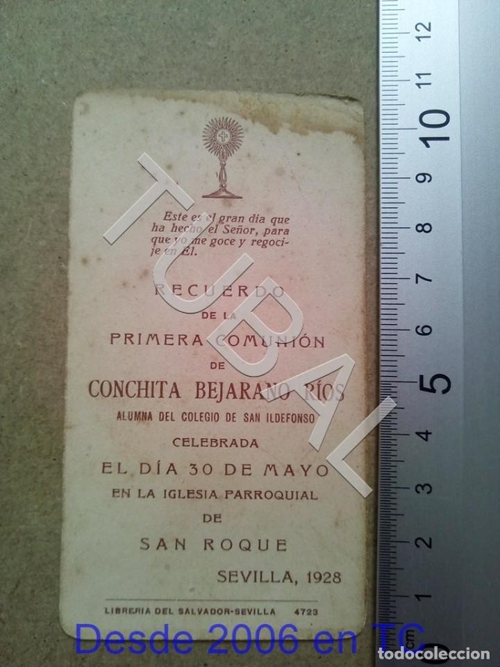 Postales: TUBAL SAN ROQUE SEVILLA 1928 ESTAMPA ANTIGUA ENVIO 2019 70 CTMS B04 - Foto 2 - 178937456
