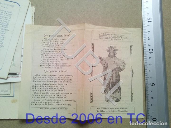 TUBAL 1937 SAN ROQUE CRISTOBAL GARRIDO ENTRONIZACION SAGRADO ESTAMPA ANTIGUA ENVIO 2019 70 CTMS B04 (Postales - Postales Temáticas - Religiosas y Recordatorios)