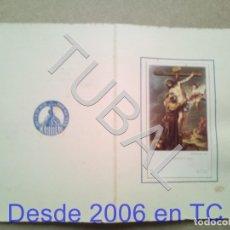 Postales: TUBAL CONDOLENCIAS CARIDAD DIOCESANA SEVILLA ESTAMPA ANTIGUA ENVIO 2019 70 CTMS B04. Lote 178943577