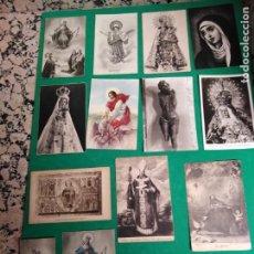Postales: POSTALES RELIGIOSAS ANTIGUAS. Lote 178993935