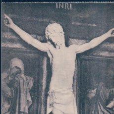 Postales: POSTAL EL ESCORIAL - N. 14 - CRUCIFIJO DE CELLINI - FOT. LACOSTE. Lote 178994825